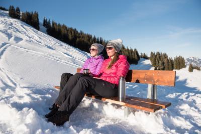 Wintersonne genießen in den Allgäuer Hörnerdörfern