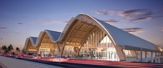 Mactan Cebu International Airport, Lapu Lapu City / Copyright: IDA Architekten, Hongkong