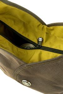 Zip closed main compartment