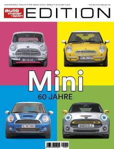 60 Jahre Mini: Neue Edition von AUTO MOTOR UND SPORT zum runden Geburtstag des revolutionären Kult-Autos