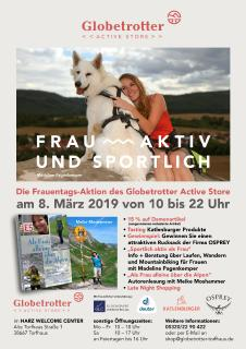 Frauentag Globetrotter-Active-Store Torfhaus/Oberharz