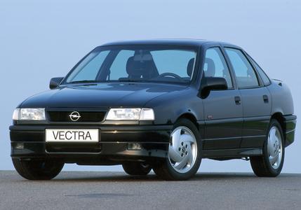 Vectra A: Mit rund 2,5 Millionen verkauften Fahrzeugen ist er bis zum Modellwechsel 1996 der erfolgreichste Mittelklassewagen in der fast 100-jährigen Geschichte des Automobilbaus bei Opel