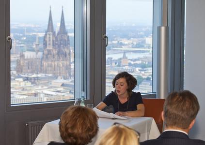 Literaturlesung im KölnTurm