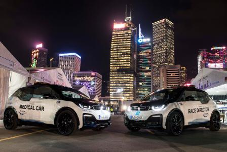 Formel E, BMW i3s, Medical Car, Race Control Car, Hongkong