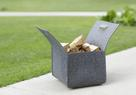 greybax: whether you're gardening or grilling outdoors - our puristic felt boxes offer stylish storage solutions