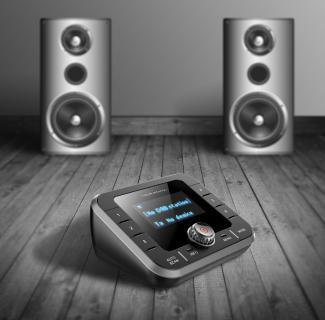 VR-Radio DAB+/FM-Tuner DOR-280.bt für Streaming an HiFi-Anlage & Lautsprecher, Bluetooth