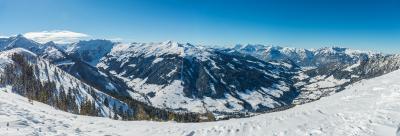 Traumhaftes Panorama im Skijuwel