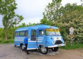 Oldtimer-ROBUR-Bus der Regionalbus-Gesellschaft Unstrut-Hainich- und Kyffhäuserkreis mbH / Bild: Welterberegion Wartburg Hainich e.V.