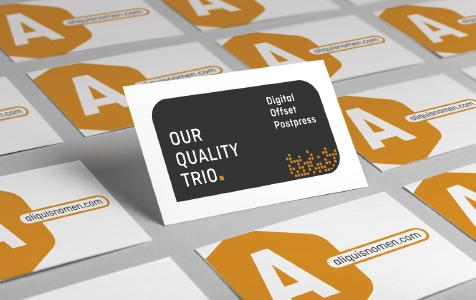 """Onlineprinters is the first online print company to score the """"quality hat-trick"""" having successfully certified its digital and offset printing modules as well as post-press operations / Copyright: Onlineprinters GmbH"""