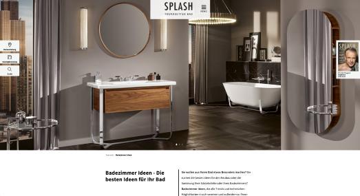 NEU: SPLASH Bad - der Trendsetter fürs Badezimmer im neuen ...