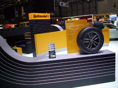 Continental mit einem Feuerwerk an Neuheiten auf dem Automobilsalon in Genf