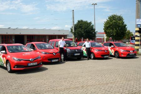 VAG E Autos (Quelle: VAG Freiburg)