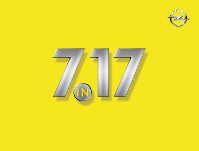 """Modelloffensive """"7 in 17"""": Opel bringt im kommenden Jahr sieben Neuheiten auf den Markt"""