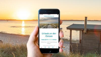 So sieht sie aus, die neue App Bild: www.ostsee-schlesiwg-holstein.de
