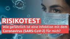 Corona-Risikotest von health tv