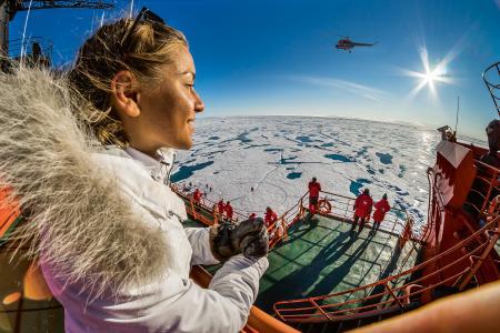 Im Sommer 2020 mit dem stärksten Eisbrecher der Welt zum Nordpol. Poseidon Expeditions bietet ab sofort drei Expeditions-Kreuzfahrten der Sonderklasse an.