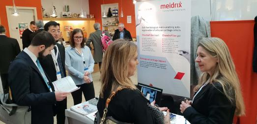 Meidrix Stand auf dem ICRS Focus Meeting – I am NOT Ready for Metal in Mailand