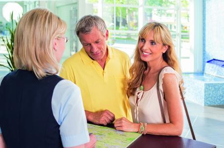 Der Kur- und GästeService in Bad Füssing: Laut ADAC-Test Deutschlands beste Tourist-Information / Foto: obx-news/ Kur- und GästeService Bad Füssing