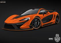 German Special Customs McLaren P1