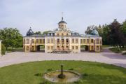 Schloss Belvedere ist Teil des UNESCO-Welterbes Klassisches Weimar. 2021 sind Schloss, Park und Orangerie Aueßnstandort der BUGA.