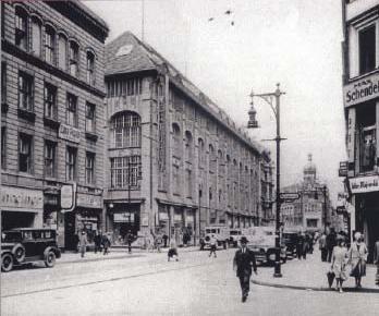 Das Wertheim-Kaufhaus zu Beginn des letzten Jahrhunderts