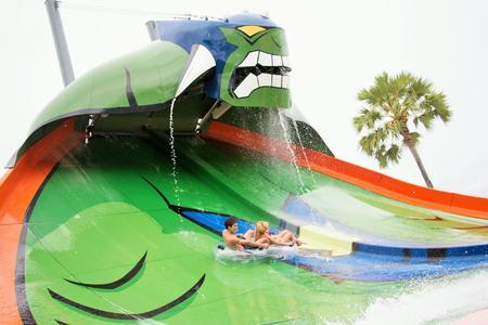 King Cobra - Humungaslide at CN Amazone Waterpark, Pattaya, Thailand