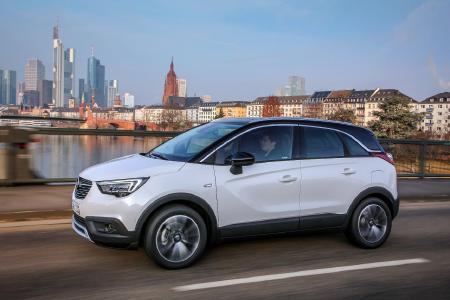 Stylish und functional: Der neue Opel Crossland X