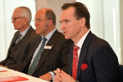 Vorstand der Sparkasse Bremen bei der BPK zum Jahresergebnis 2017