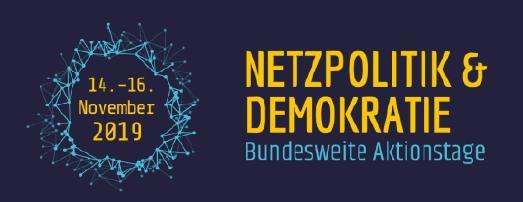 """Bundesweite Aktionstage """"Netzpolitik & Demokratie"""": Veranstaltungen in Baden-Württemberg"""