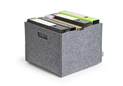 PICK UP Filz-Trageboxen von greybax - hin und weg auf formschöne Art