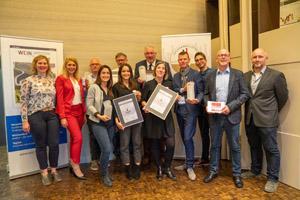 Deutschlands beste Weinfachhändler wurden am 13. Oktober 2019 auf dem Weinfachhändlertag in Heilbronn prämiert.  Platz 1: Wein Stork, Lüdinghausen; Platz 2: Wein-Moment, Stuttgart; Platz 3:  Vinocentral, Darmstadt; Sonderpreis: Wein Wolff, Leer