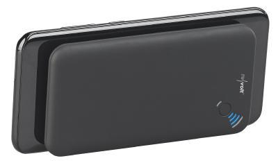 ZX-1778 04 revolt Qi-kompatible Slim-USB-Powerbank PB-500.qi 10.5 Watt