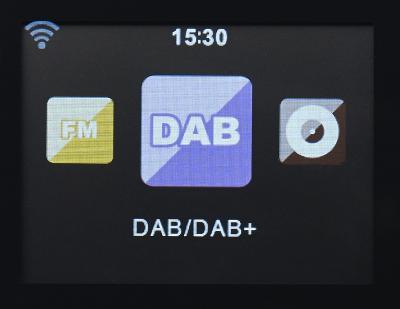 VR-Radio Stereo-Internetradio m. CD-Player, DAB+/FM, Farbdisplay, Wecker, 32 W