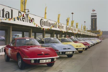 50 Years Ago: When the Opel GT Conquered the Hockenheimring