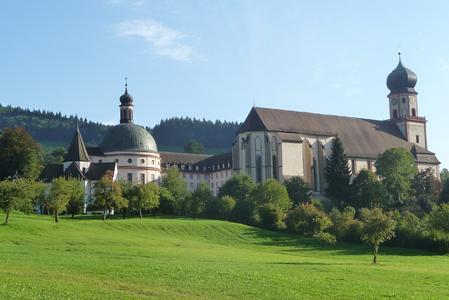 Kloster und Klosterkirche St.Trudpert im Münstertal