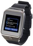 "simvalley MOBILE 1,5""-Handy-Uhr/Smartwatch PW-430.mp, BT 3.0, Kamera"