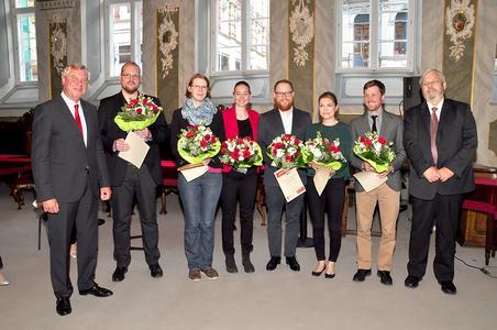 Verleihung des Energieeffizienzpreises 2015 der Gemeinnützigen Sparkassenstiftung