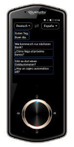 simvalley MOBILE Mobiler Echtzeit-Sprachübersetzer TTL-110, 75 Sprachen, mit Kamera, 4G & WLAN