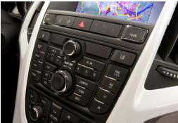 Multimedia-Infotainmentsysteme sind längst in der Kompaktklasse angekommen – und bei Opel optimal ins Bedienkonzept  integriert