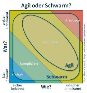 Agil oder Schwarm