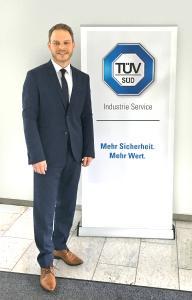 Christoph Gaus ist neuer Niederlassungsleiter der TÜV SÜD Industrie Service GmbH in Ulm und Ravensburg