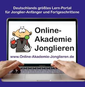 Online-Akademie-Jonglieren.de - Deutschlands größtes Lern-Portal für Jonglier-Anfänger und Fortgeschrittene