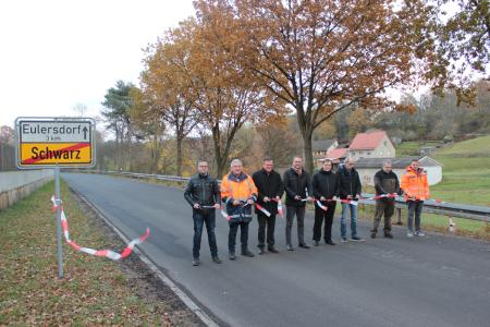 Freie Fahrt zwischen Eulersdorf und Schwarz
