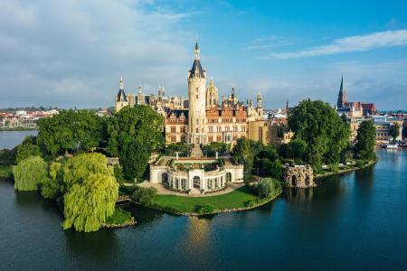 Das Schweriner Schloss, Foto: TMV/Gänsicke
