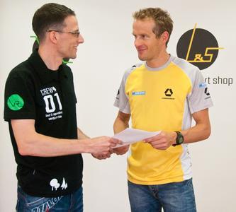 Jörg Mayer und Timo Bracht
