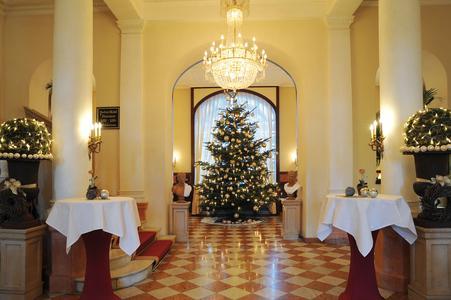 Festliches Foyer im Maritim Hotel Mannheim, © Maritim