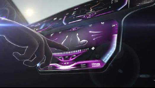 Das Touch-Display mit dreidimensionaler Oberfläche verbessert Sicherheit und Nutzererlebnis