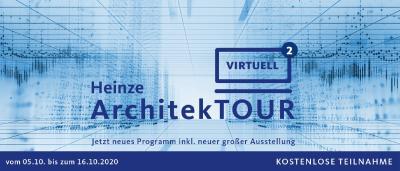 ArchitekTOUR virtuell 2. Edition