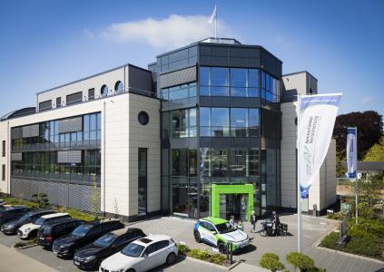 Firmengebäude der Ammerländer Versicherung in Westerstede.