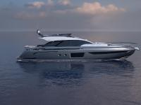 Breaking News: Azimut S8 IS on her way to Cannes Yachting Festival